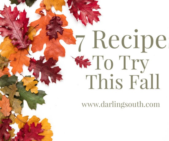 7 fall recipes