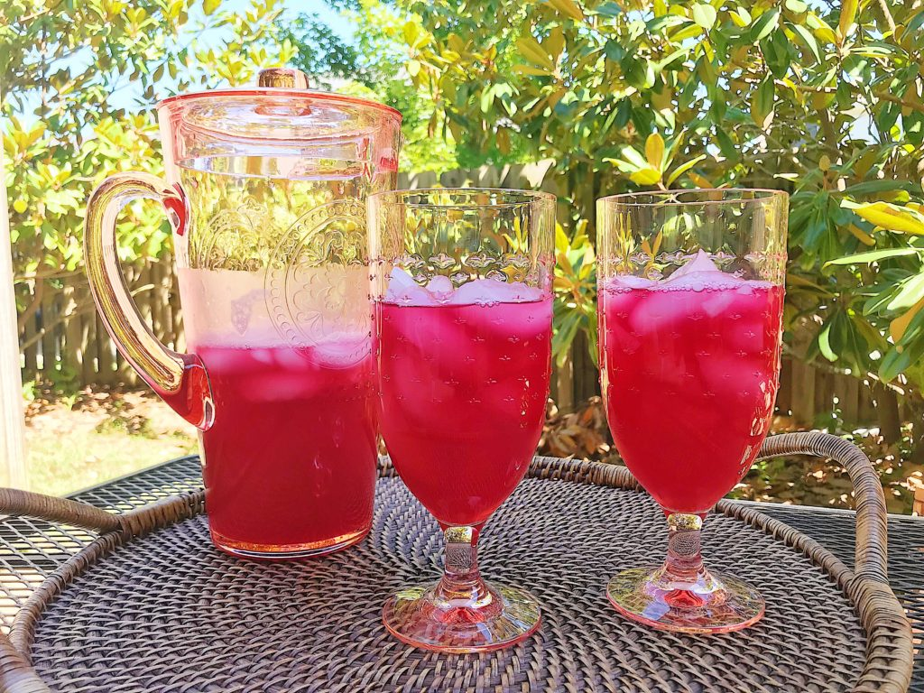 Passion Tea Lemonade - Better Than Starbucks, and just two ingredients. From DarlingSouth.com